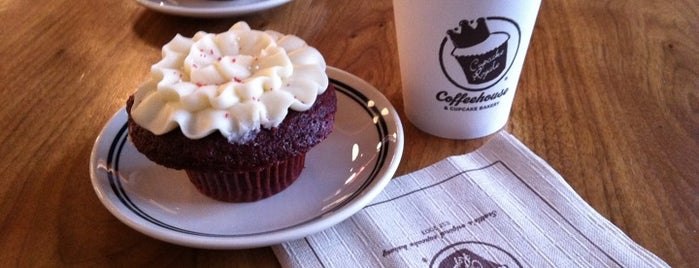 Cupcake Royale and Verite Coffee is one of Lost in Seattle.