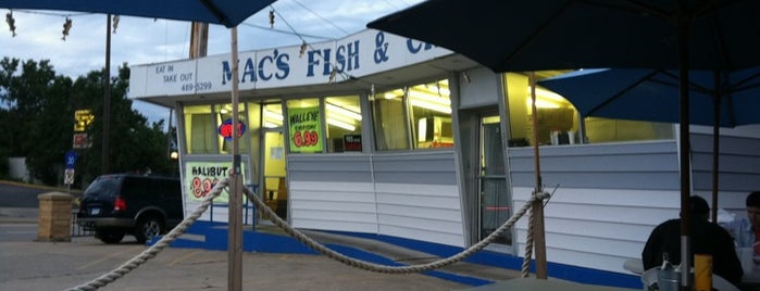Mac's Fish and Chips is one of Minneapolis and St.Paul Restaurants & Bars.