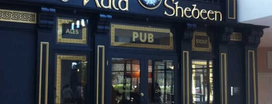 The Auld Shebeen Pub is one of Nightlife.