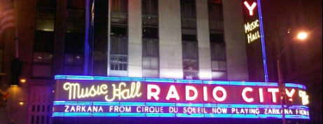 Radio City Music Hall is one of If You're A Tourist in NYC....