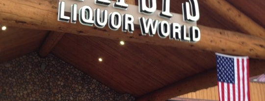 Tipsy's Liquor World is one of Places to find Colorado Wine.