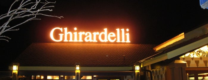 Ghirardelli Ice Cream & Chocolate Shop is one of Disney Springs.