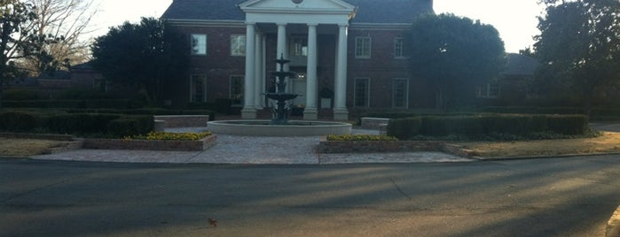 Arkansas Governor's Mansion is one of Bill Clinton Foursquare Challenge.