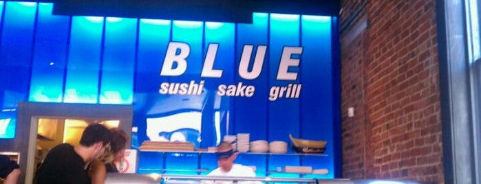 Blue Sushi Sake Grill is one of Favorite affordable date spots.