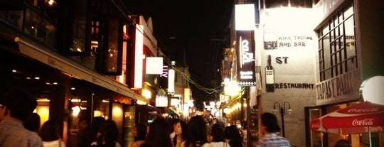Itaewon-ro is one of Best night spots.