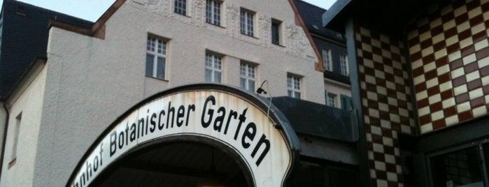 S Botanischer Garten is one of Besuchte Berliner Bahnhöfe.