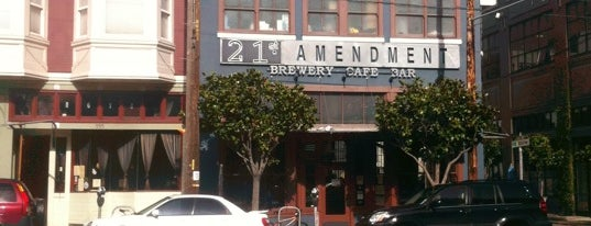 21st Amendment Brewery & Restaurant is one of Favorites in San Francisco.