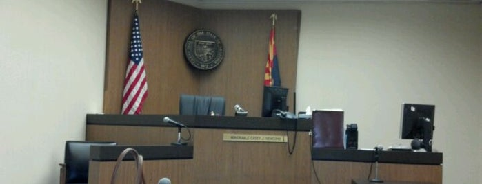 Maricopa County Superior Court is one of Landmarks of Interest for J-Students.