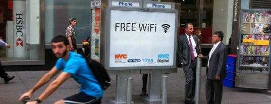 NYC Public Wifi Hotspot (Payphone Kiosk) is one of NYC Public WiFi Hotspots.