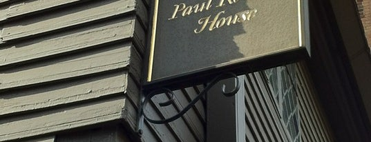 Paul Revere House is one of MASSACHUSETTS STATE - UNITED STATES OF AMERICA.