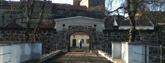 Akershus festning is one of Nasjonale Festningsverk.