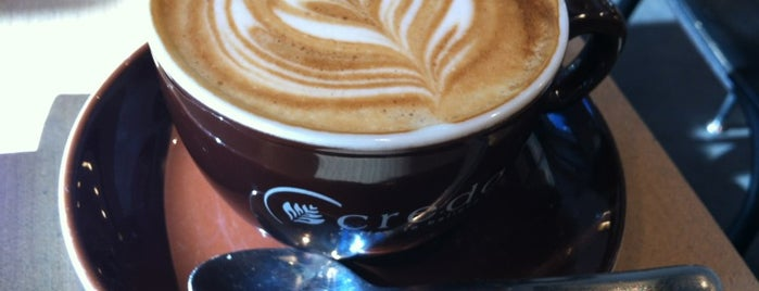 Credo Coffee is one of World Coffee Places.