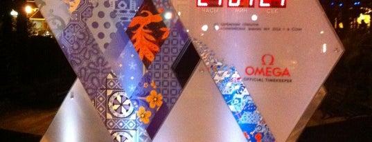 Таймер Обратного Отсчета / Sochi 2014 Countdown Clocks is one of Сочи @ chaluskin.ru.