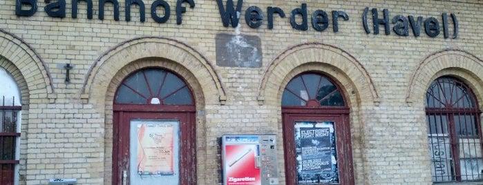 Bahnhof Werder (Havel) is one of Brandenburg Blog.