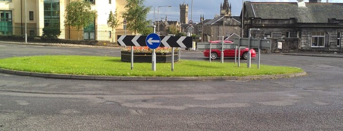 Ludgate Roundabout is one of Named Roundabouts in Central Scotland.