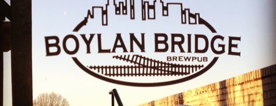 Boylan Bridge Brewpub is one of Places to try.
