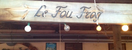 Le Fou Frog is one of Kansas City Favorites.