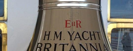 The Royal Yacht Britannia is one of U.K..