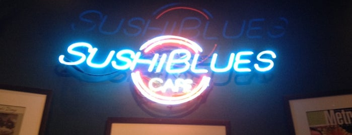Sushi Blues Cafe is one of Raleigh's Best Asian - 2013.