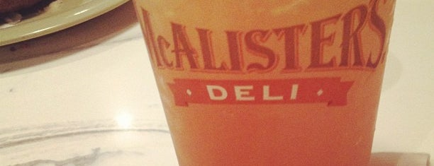 McAlister's Deli is one of College Life.