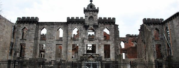 Smallpox Hospital is one of Abandoned NYC.