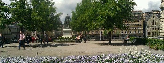 Place de la Madeleine is one of Places à Lausanne.