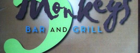 3 Monkeys Bar & Grill is one of Guide to Richmond's best spots.