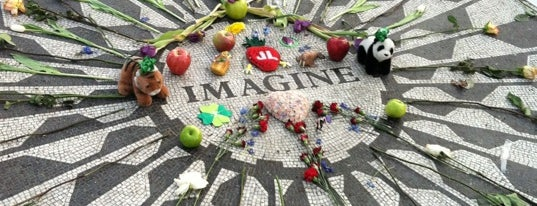 Strawberry Fields is one of Park Highlights of NYC.
