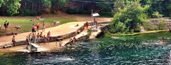 Barton Springs Pool is one of Texas Trip.