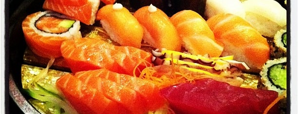 St Sushi is one of Newcastle Upon Tyne.