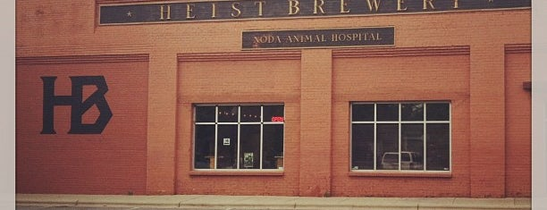 Heist Brewery is one of The 15 Best Places for Craft Beer in Charlotte.