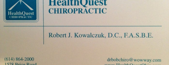 Healthquest Chiropractic is one of North Coast Auto Mall.