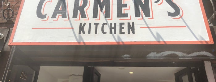 Carmen's Kitchen is one of Manhattan 2.