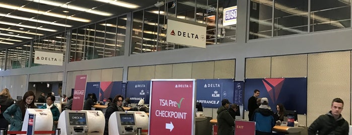 Delta Airlines is one of Bus Shuttle and Transportation Planning Services.