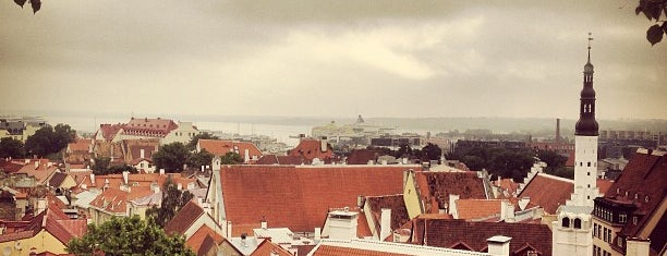 Kohtuotsa viewing platform is one of Tallinn #4sqCities.