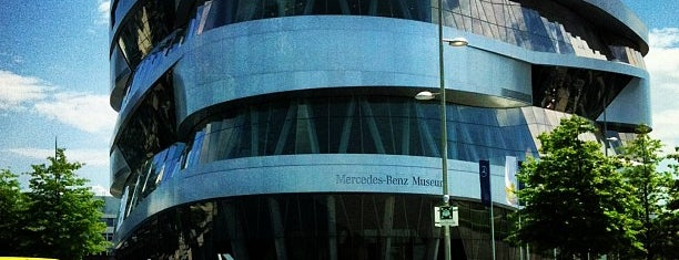 Mercedes-Benz Museum is one of Stuggi4sq.