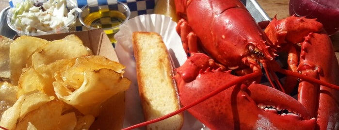 New England Lobster Market & Eatery is one of CALI.