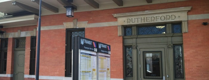 NJT - Rutherford Station (MBPJ) is one of New Jersey Transit Train Stations I Have Been To.
