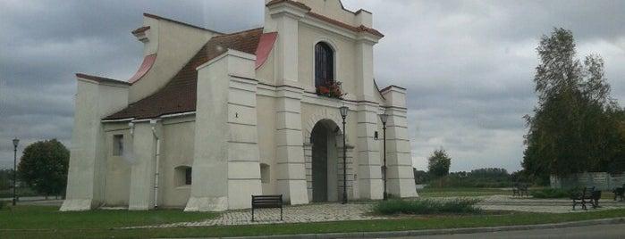 Несвиж is one of Города Беларуси.