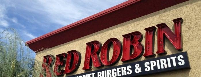 Red Robin Gourmet Burgers and Brews is one of Vegan dining in Las Vegas.