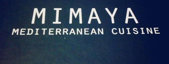 Mimaya is one of θα φαμε τιποτα;(τα παντα δλδ).