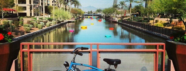 Scottsdale Waterfront is one of PHX Parks in The Valley.