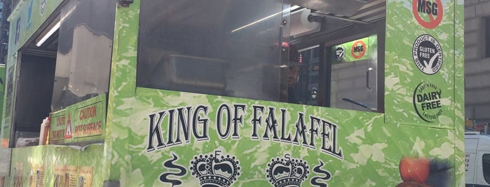 King Of Falafel & Shawarma Express is one of All The Trucks.