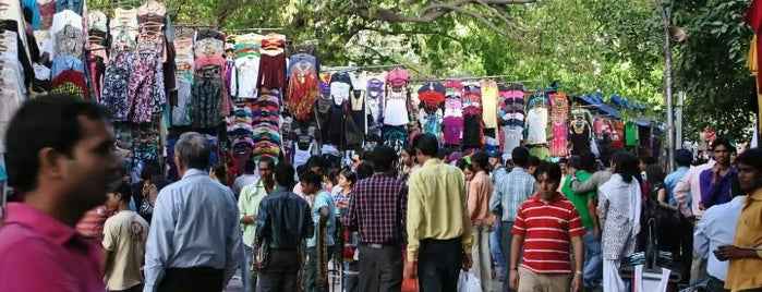 Janpath Street Market is one of India places to visit.