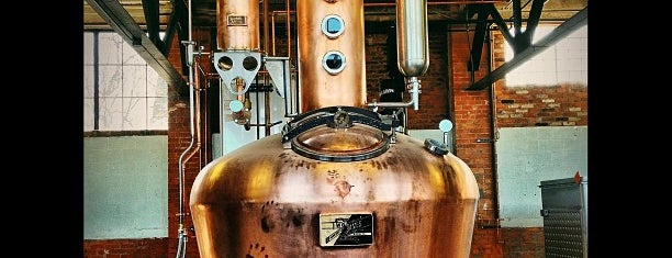 Two James Distillery is one of Detroit Monday.