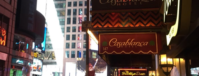 Casablanca Hotel is one of Best Places to Check out in United States Pt 3.