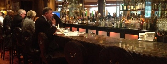 The Bristol Lounge is one of Bars in Boston With Fireplaces.
