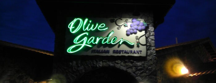 Olive Garden is one of Club life out.