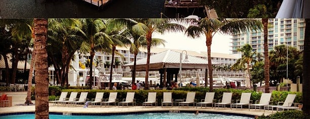 Hilton Fort Lauderdale Marina is one of Ft Lauderdale to Stuart FL.