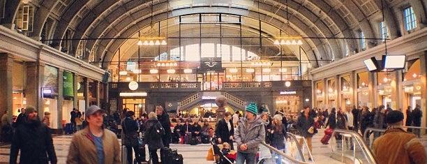 Stockholm Central Station is one of Tågstationer - Sverige.